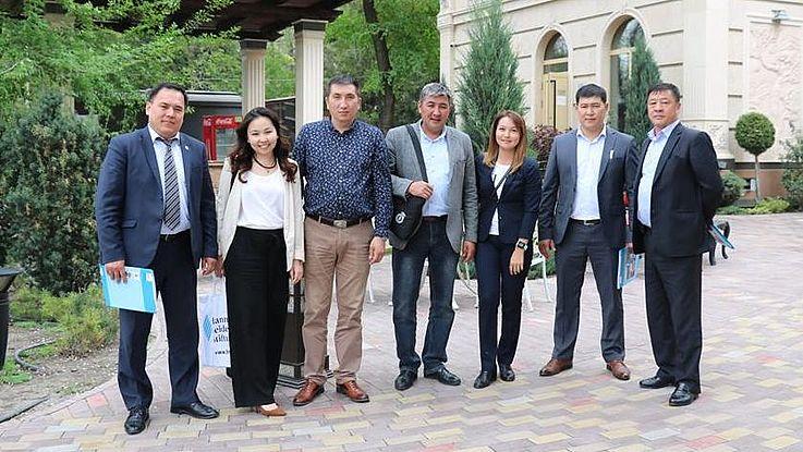 """Business-Lunch """"Fragen der lokalen Selbstverwaltung in Bayern und in der Kirgisischen Republik"""""""