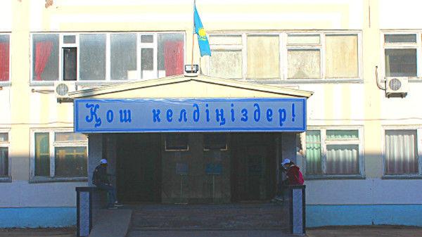 Wahllokal in einer Schule