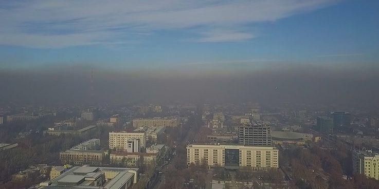 Die Luftverschmutzung in Bischkek überschreitet die zulässigen Normen um ein Vielfaches