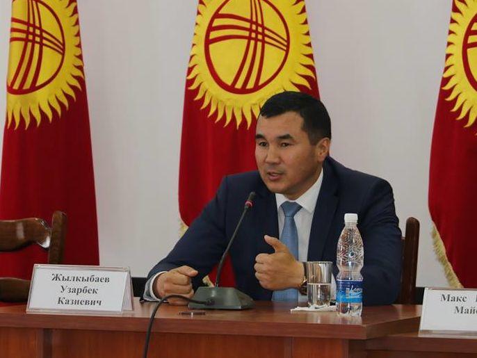 Bevollmächtigter Vertreter der Regierung im Regierungsbezirk Osch, Herr Shylkybajew Usarbek Kasijewitsch