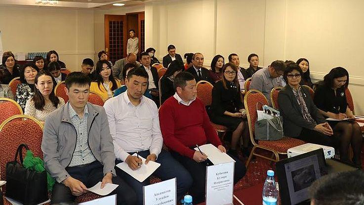 Einführung eines Antikorruptionsmodells in der Verwaltung des kirgisischen Ministeriums für Arbeit und Soziale Entwicklung
