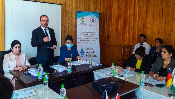 Академия госуправления Таджикистана и Фонд Ханнса Зайделя проводят курсы для женщин-лидеров Горно-Бадахшанской автономной области