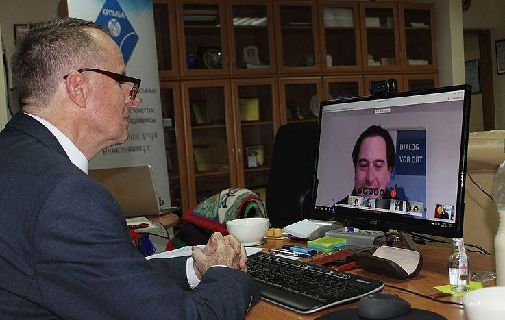 """Bürger Deutschlands wurden in der Online-Präsentation """"Blick in die Welt"""" über Kirgisistan informiert"""