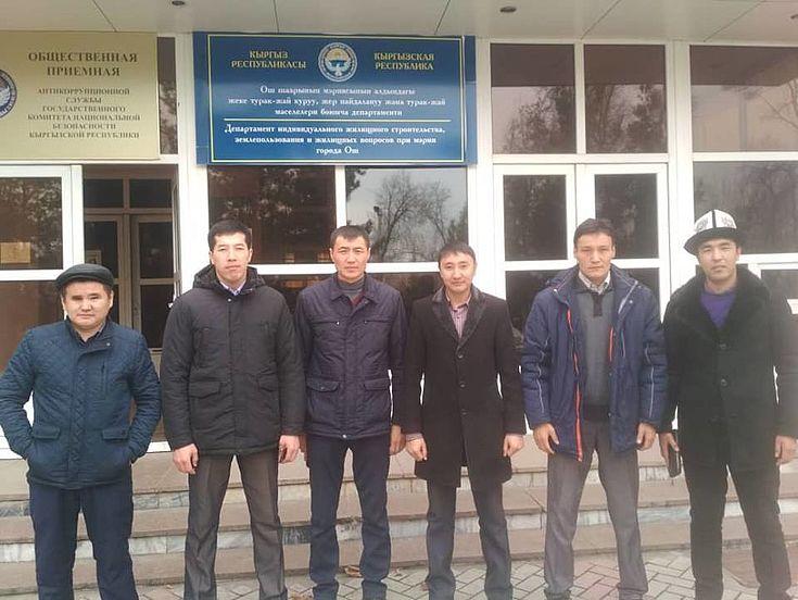 Die aktiven HSS-Alumni in der südkirgisischen Stadt Osch