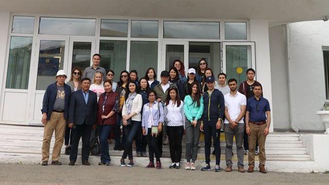 Stipendiaten-Treffen in Borowoje (Kasachstan)