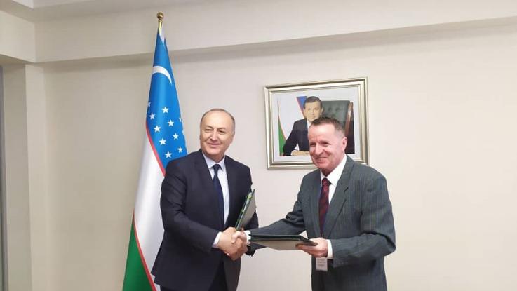 Die Akademie für öffentliche Verwaltung Usbekistans und die Hanns-Seidel-Stiftung haben für 2021-2021 eine Partnerschaftsvereinbarung unterzeichnet