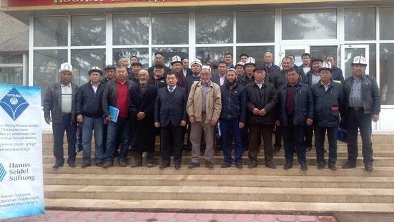 """Training """"Arbeit der Abgeordneten der lokalen Räte in der Kirgisischen Republik"""""""