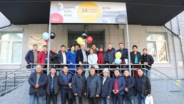 Fortbildungsmaßnahme für die kirgisischen Alumni in Kasachstan