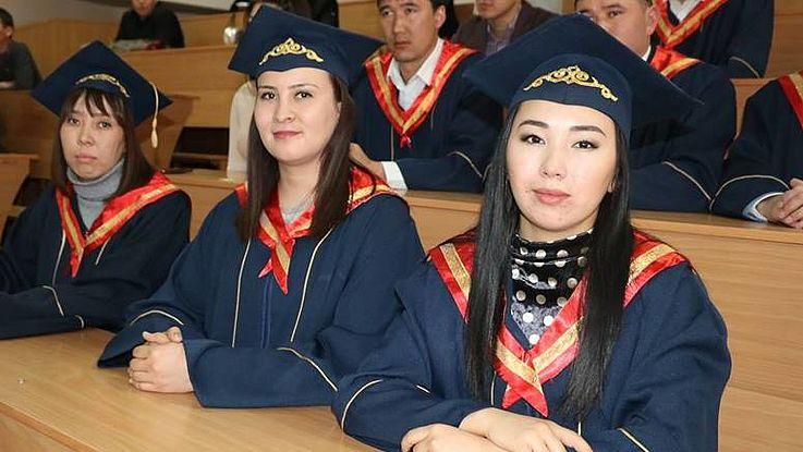 Церемония вручения дипломов выпускникам группы МСУ-2017/2018