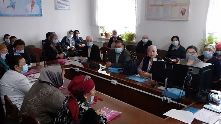 Die Eröffnung eines Sozialzentrums wurde in Nooken diskutiert