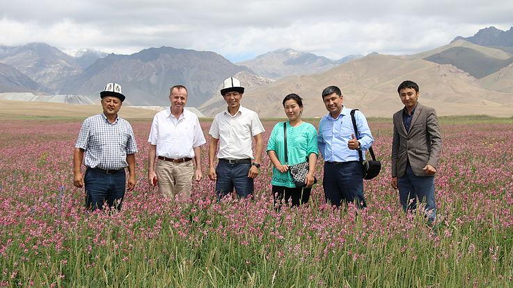 4. grenzüberschreitendes Treffen der kirgisischen und tadschikischen Alumni der HSS