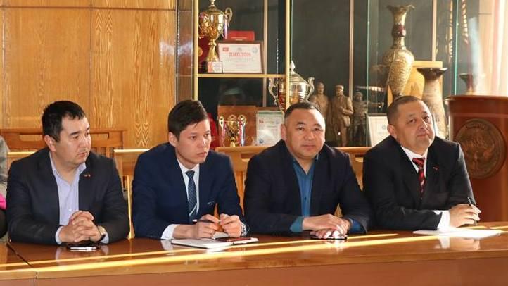 Встреча членов Координационного совета в Иссык-Кульской области
