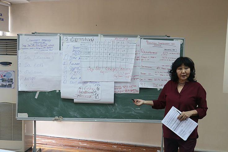 Mamytowa Aina Oskombajewna, Beraterin für Katastrophenrisikoreduzierung, UNICEF Kirgisistan